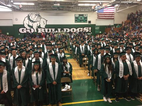 Students Graduating at MVHS